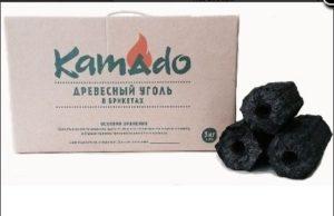 Уголь в брикетах, 10 кг, «Kamado», производитель – «Kamado», Китай