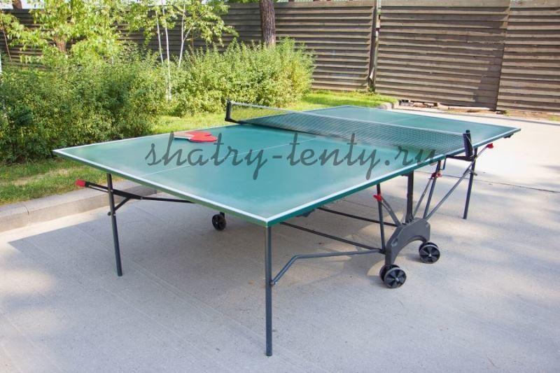 Уличный теннисный стол из ламинированного ДСП