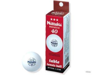 Упаковка шариков для настольного тенниса NITTAKU PREMIUM 3шт