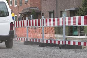 Временные барьеры «Tempofor T2 пластиковые» для сигнального забора Производитель: BETAFENCE Бельгия
