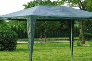 Зеленый складной павильон Mountain Outdoor TI-1102-7052 в парке