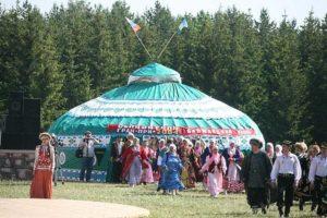 проведение мероприятия в большой «Баймакской» юрте