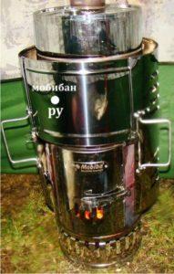Банная парогенерирующая печь «КЦ-1 - Гравицапа», производитель – «Мобиба», Россия