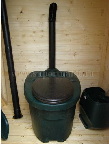 Мобильный, автономный туалет с вентиляционной системой BIOLAN KOMPLET