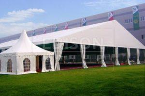 Большой шатер павильон EDISONGROUP 30 на выставке