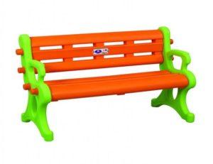 Детская пластиковая разноцветная скамейка Pilsan, Турция