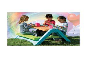 Складной разноцветный детский стол PalPlay на свежем воздухе, Израиль