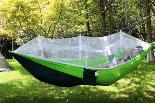 Подвесной зелёный гамак с сеткой кровать ShowCharm в лесу, Китай