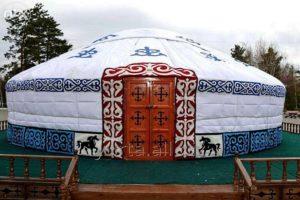 «Казахская десятиканатная» юрта, производитель: ТОО «KBK-Group», Казахстан