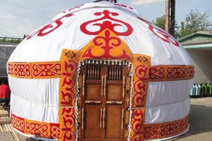 «Казахская шестиканатная» юрта, производитель: ТОО «KBK-Group», Казахстан