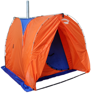 Сине-оранжевый комплект «Алтай» разложенная