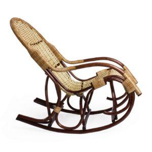 Экологическое кресло-качалка из лозы Усмань Loza Design, Россия