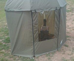 Мобильная баня «Огниво» цвета хаки, Производитель: Огниво, Россия