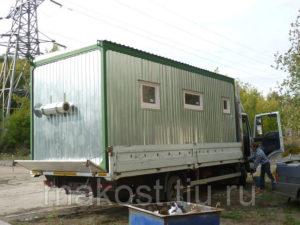 Мобильные бани контейнерного типа, из оцинкованной стали Производитель: Центр МТК и НМИ (Россия)