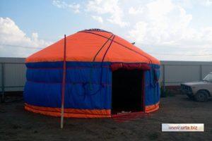 Юрта диаметр 5,55 м, производитель: «Юрты Алтая», Россия