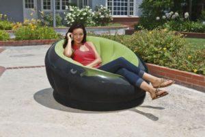 Надувное кресло в форме чаши Intex Empire Chair INTEX, Китай