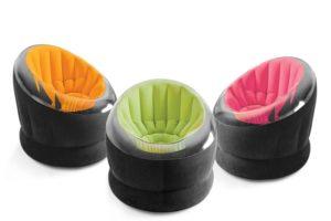 Надувные кресла в трёх цветах Intex Empire Chair INTEX, Китай