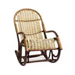 Кресло-качалка из натуральной очищенной лозы Усмань Loza Design, Россия