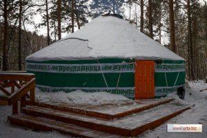 Юрта «Семистенная, диаметром 9,37 м», производитель: «Юрты Алтая», Россия