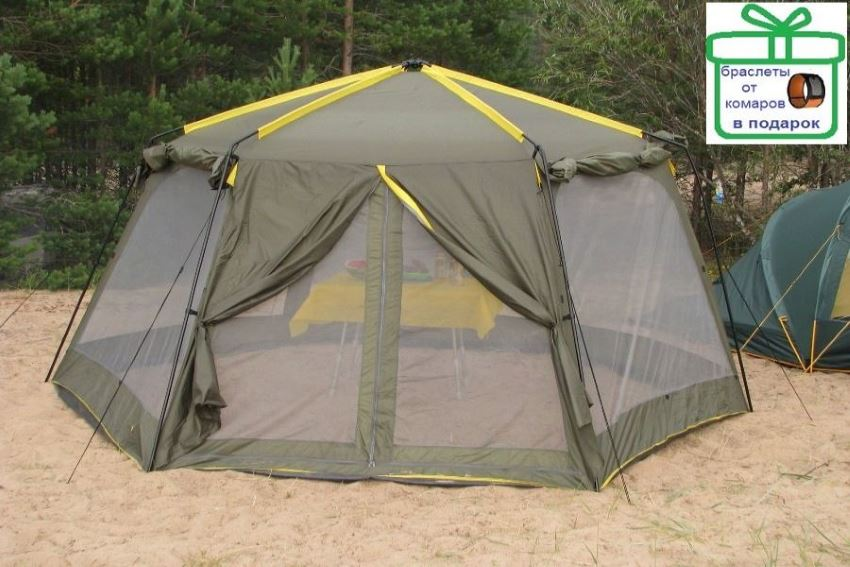 Финский шатер для отдыха с москитной сеткой Avi-Outdoor Ahtari Moskito Sharer