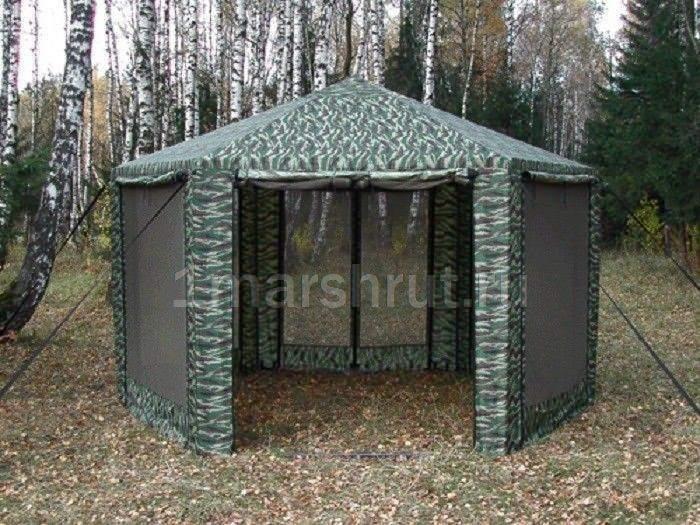 Тент шатер металлический с москитной сеткой ПИКНИК 2 Х 2 Х 2 М, Россия