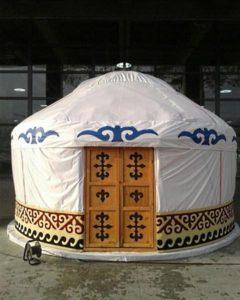 «Шестиканатная ручной работы «жел-коз» дм 4,8м.-5,0м.1», производитель: ТОО «Юрта-Каз», Казахстан