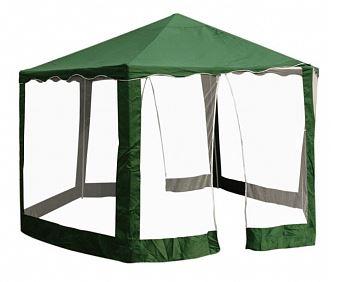 Шестисторонний зелёный пляжный шатёр с москитными сетками Park PG04 2 X 2 X 2, Китай