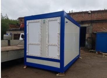Стационарный туалетный модуль МТА-3И ООО Калужский завод нестандартных конструкций, Россия