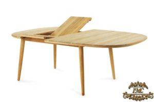 Древесный стол-трансформер для садового участка Les Arcs Unopiu, Италия