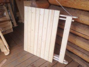 Стол садовый складной Столярная мастерская Wooden-world, Россия