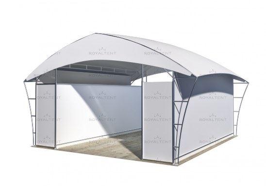 Торговый павильон Royal Tent TRADE RT49/1 CLOSE 6 Х 6 М(Россия)