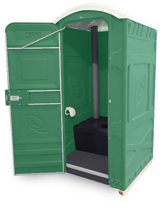 Мобильная кабина-туалет ЭКОЛАЙТ СТАНДАРТ ЭКОЛАЙТ без подключения к канализации, электричеству или водоснабжению