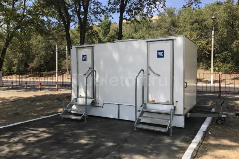 Туалетный модуль VIP класса WC Black Onyx Middle Tualetoff, Россия