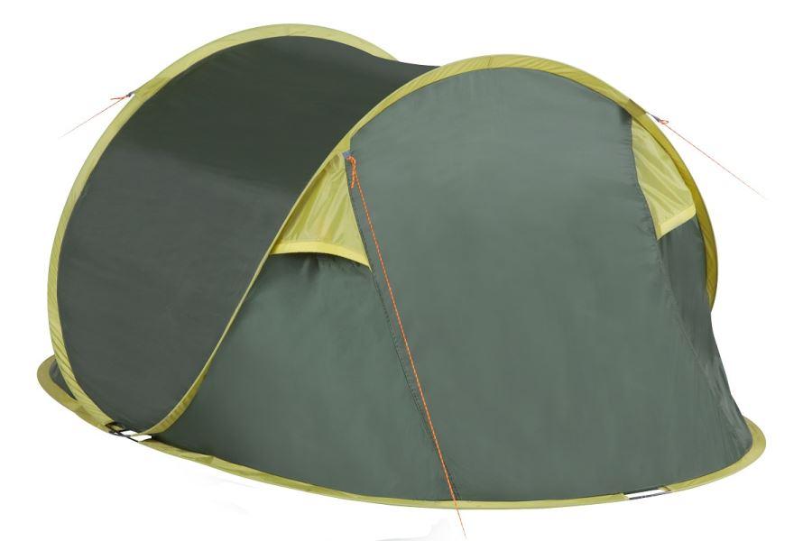 Автоматическая палатка шатер с москитной сеткой TREK PLANET Plus 2, 2,4 М