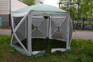 Тент шатер CAMPACK TENT A-2006W 6 D,Китай
