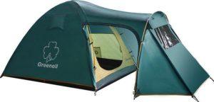 Зеленая всепогодная туристическая палатка «Greenell Каван 3»