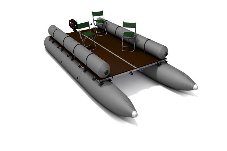 Катамаран Тримаран Т-53
