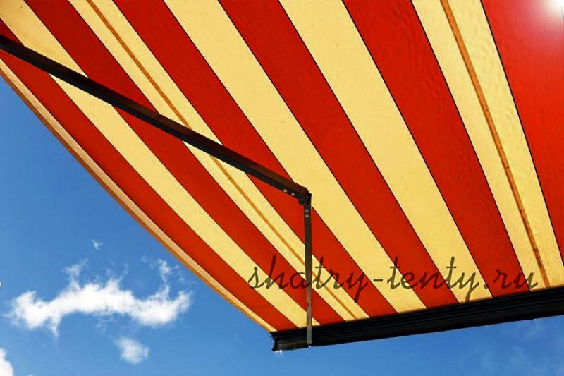 Красно-желтое лавсановое волокно