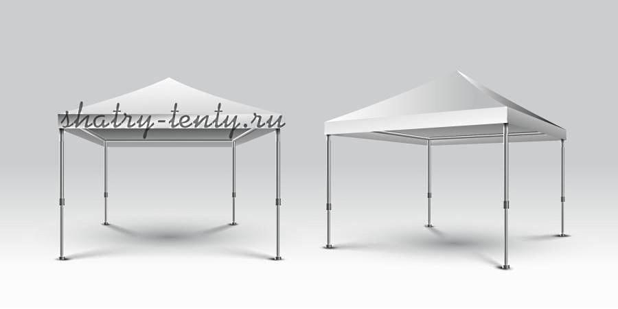 Шатрово-каркасная конструкция, модель открытого типа