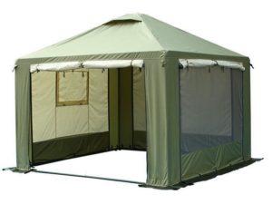Туристический тент шатер со стенками ПИКНИК Митек 3 Х 3 М,Россия