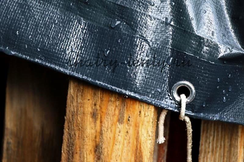 прямоугольный тент из Тарпаулина с отверстиями, усиленными металлическими кольцами-люверсами