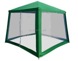 Зеленый шатер со стенками зеленый GREENHOUSE 2,4 Х 2,4 М P-30 из стали