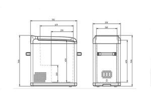 «ColkuDC-42F» схема с размерами