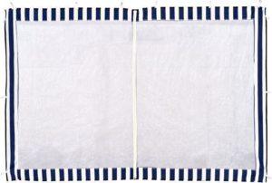 Синяя стенка с москитной сеткой 1,95 Х 2,95 М для садового тента