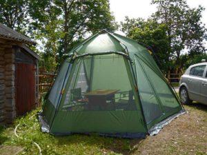 Зеленая палатка TALBERG ARBOUR (Polyester RipStop)