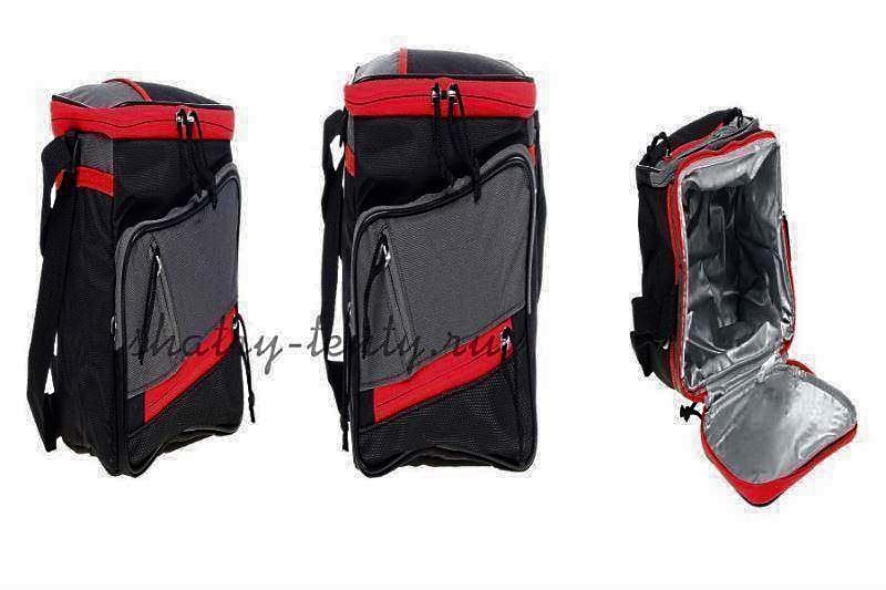 Текстильная изотермическая сумка-рюкзак