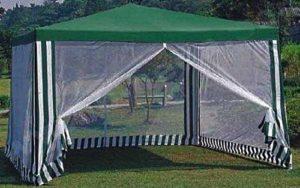 Тент с прозрачными стенками прямоугольный, GREEN GLADE 1088 3 Х 4 М с водонепроницаемым покрытием