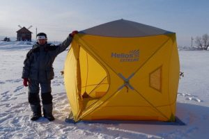 Быстросборная палатка для экстремального отдыха «EXTREME Helios» 1,5х1,5