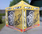 Мобильные шатры для гоночных команд