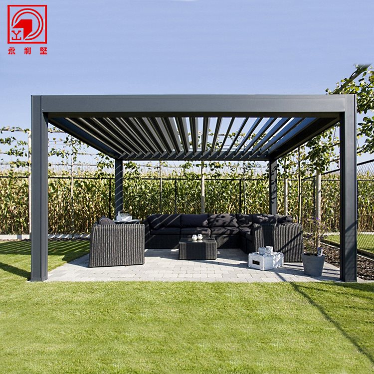 Алюминиевая пергола «Pavilion», производитель: «Yonglijian» Китай